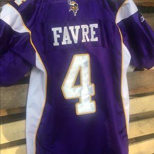 Minnesota Vikings Brett Favre NFL Football Jersey